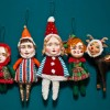Candy Elves Ornaments